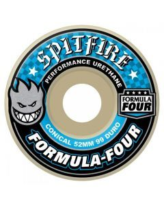 Spitfire Formula Four Conical Skateboard Wheels - 52mm 99du