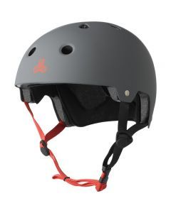 Triple 8 Brainsaver Helmet - Gun Grey