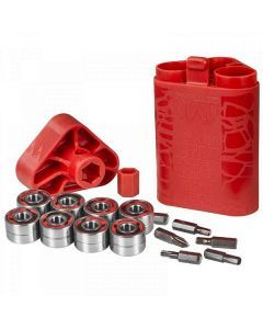 Wicked SUS Rustproof Bearings - 16 Pack With Tool Kit