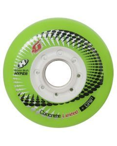 Hyper Concrete G Inline Skate Wheels - Green 4 Pack