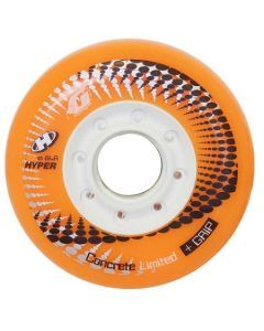 Hyper Concrete G Inline Skate Wheels - Orange 4 Pack