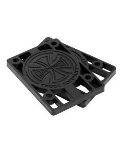 Independent Riser Pads Black - 1/4 Inch