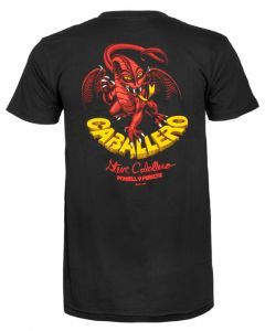 Powell Peralta Cab Dragon II T Shirt - Black