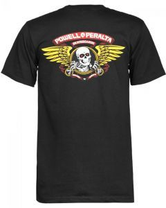 Powell Peralta Winged Ripper T Shirt - Black