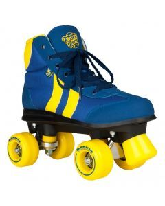 Rookie Retro Roller Skates V2.1 - Blue/Yellow