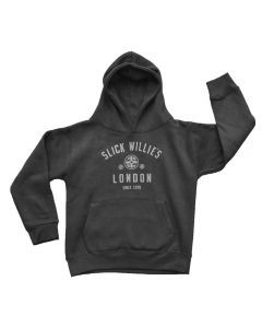 Slick Willies London Kids Hoody - Black