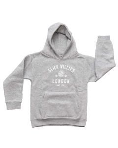 Slick Willies London Kids Hoody - Grey
