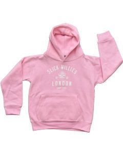 Slick Willies London Kids Hoody - Pink