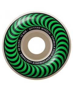 Spitfire Formula Four Classics Green Skateboard Wheels - 52mm 99du
