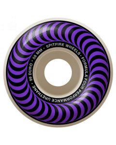 Spitfire Formula Four Classics Purple Skateboard Wheels - 58mm 99du