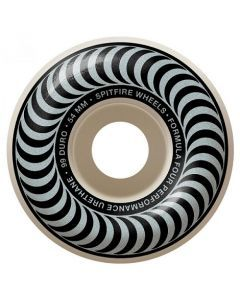 Spitfire Formula Four Classics Silver Skateboard Wheels - 54mm 99du