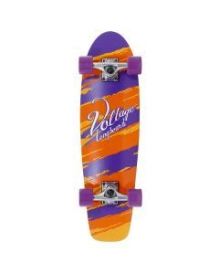Voltage Cruiser Skateboard Orange - 28""